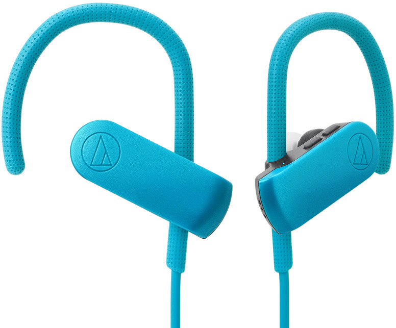 Беспроводные наушники Audio-Technica ATH-SPORT50BTBL, бирюзовый беспроводные наушники audio technica ath sport50bt blue