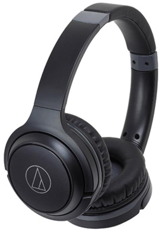 Беспроводные наушники Audio-Technica ATH-S200BTBK, черный