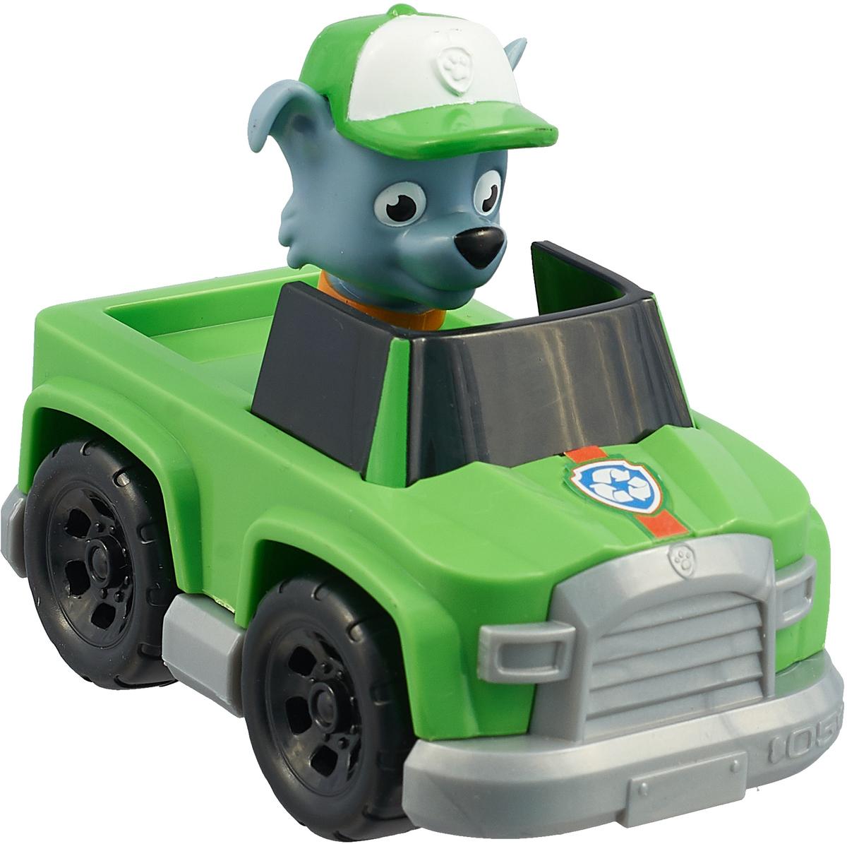 Paw Patrol Машинка спасателя Rocky paw patrol игровой набор машинка спасателя и щенок rocky цвет зеленый серый оранжевый