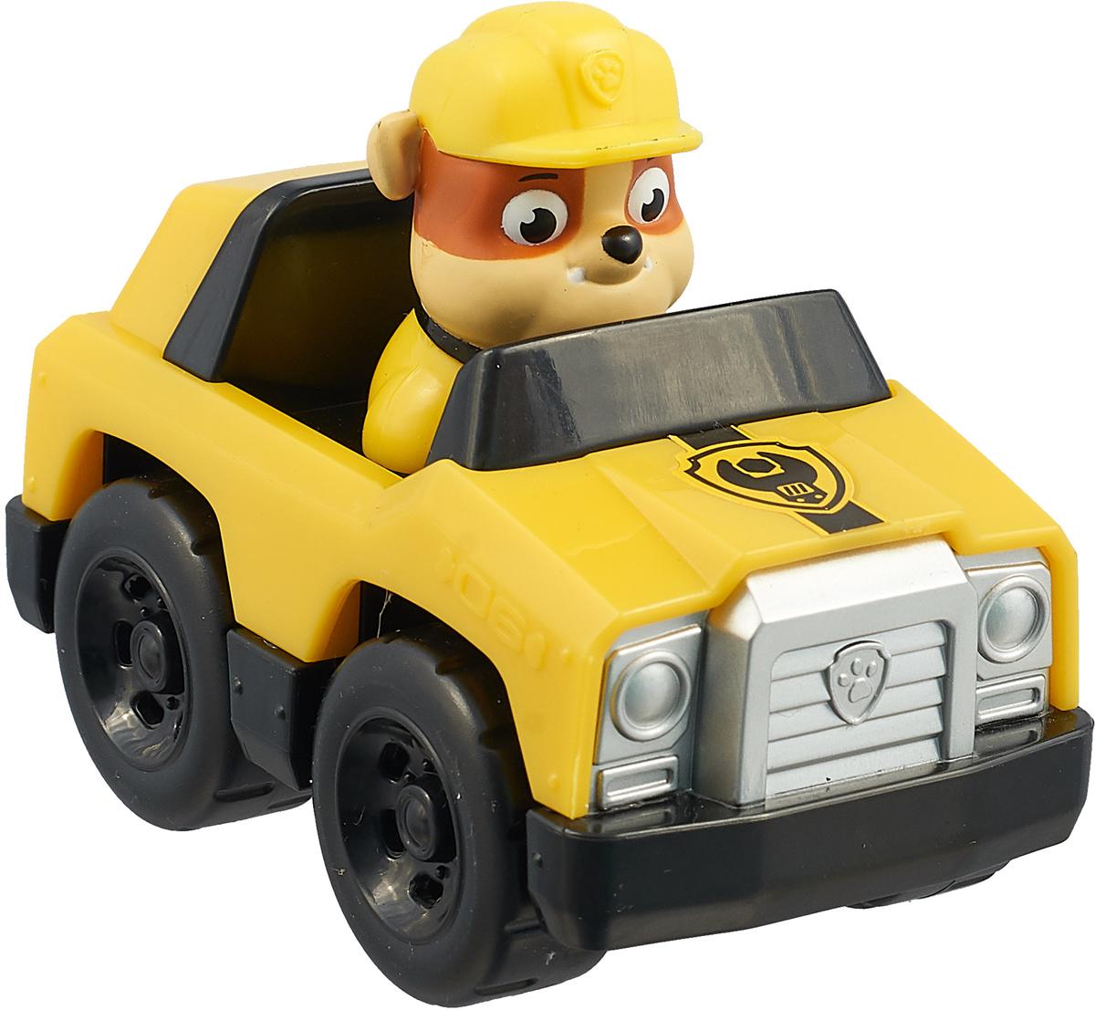 Paw Patrol Машинка спасателя Rubble paw patrol фигурка pup fu rubble