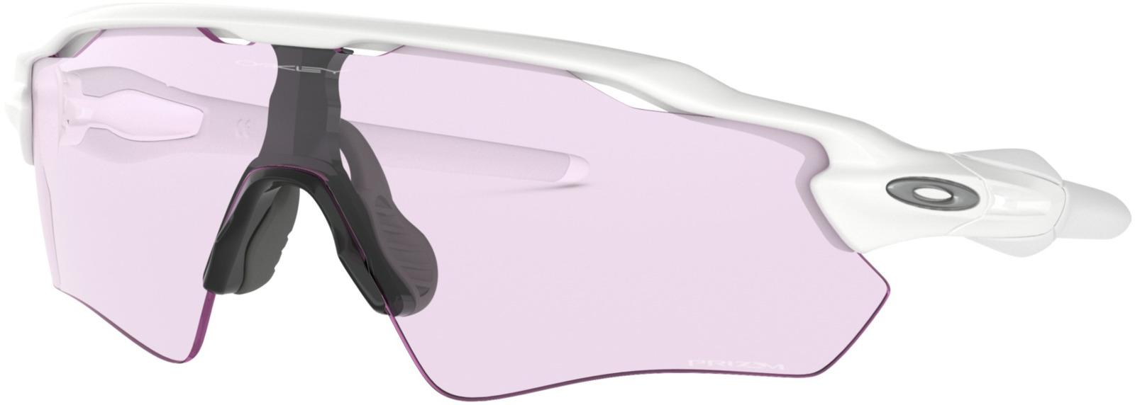 цена на Велосипедные очки Oakley Radar Ev Path Polished, цвет: белый, серый