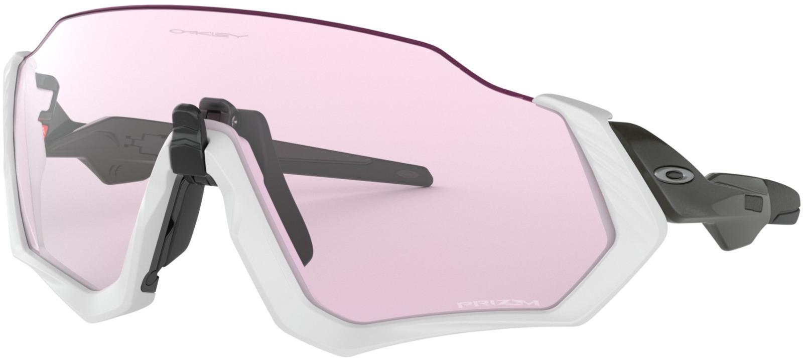 Велосипедные очки Oakley Flight Jacket, цвет: серебристый очки от глеба