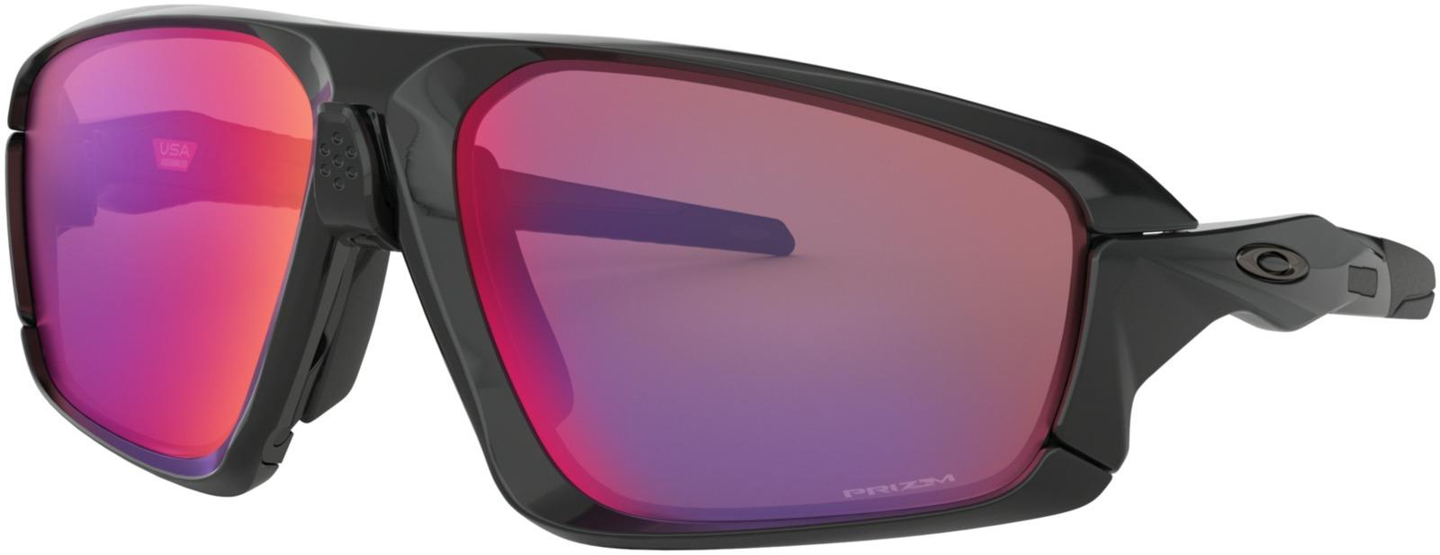 Велосипедные очки Oakley Field Jacket Polished, цвет: черный, серый