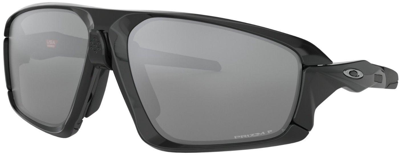 Велосипедные очки Oakley Field Jacket Polished, цвет: черный, розовый
