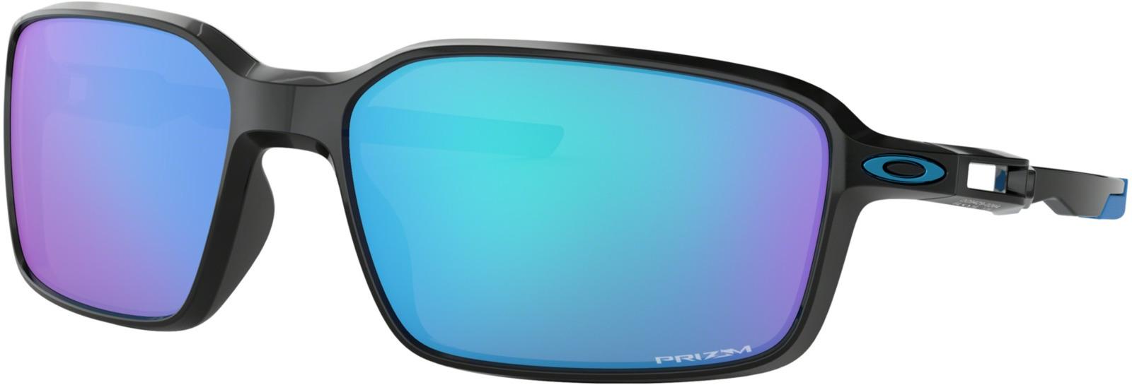 Велосипедные очки Oakley Siphon, цвет: черный, голубой