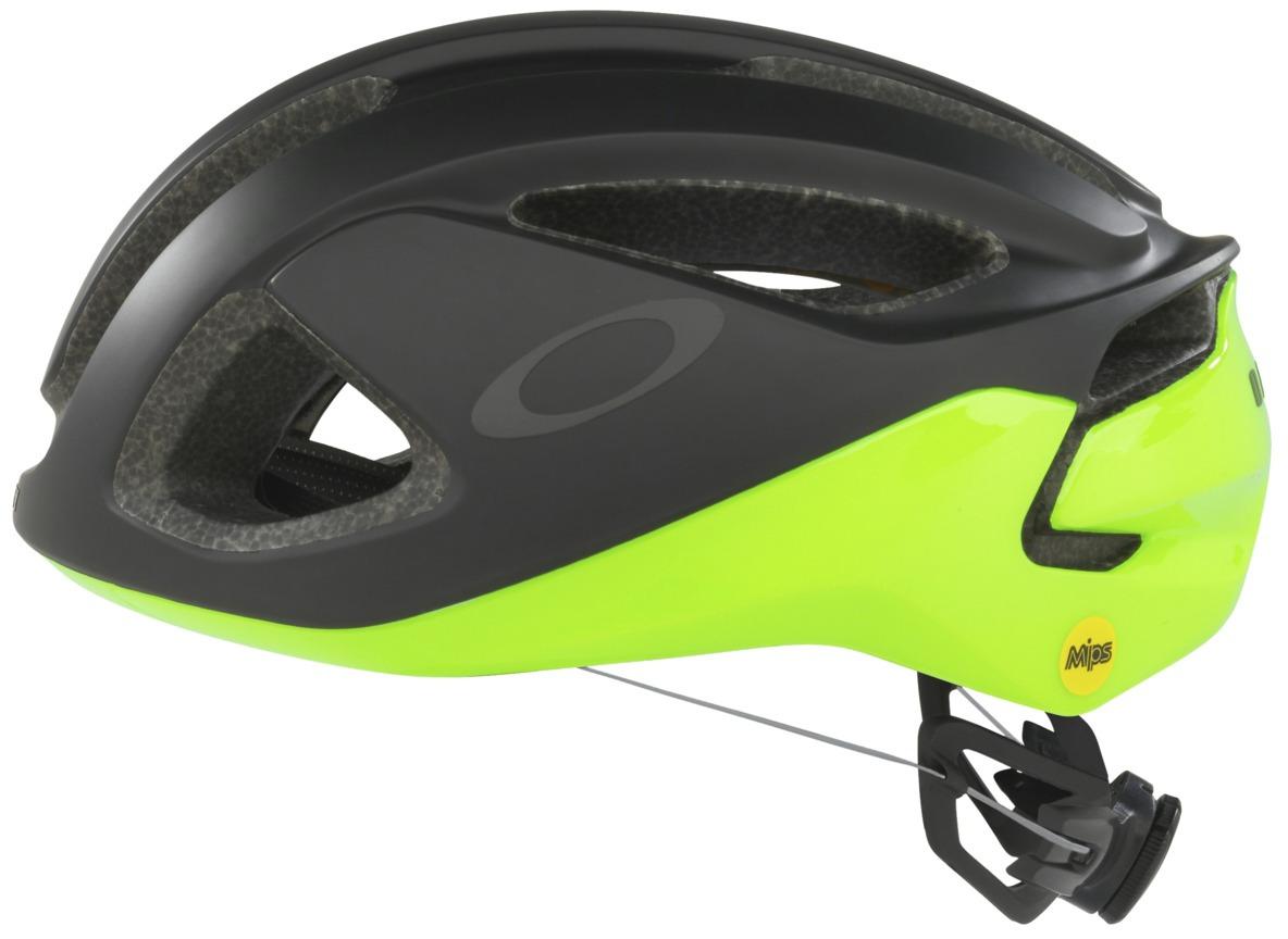 Шлем велосипедный Oakley ARO3, цвет: черный, зеленый. Размер L
