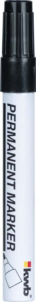 Маркер строительный Kwb, тонкий, цвет: черный calligrata маркер перманентный 1104 цвет красный