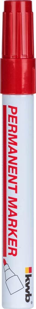 Маркер строительный Kwb, тонкий, цвет: красный calligrata маркер перманентный 1104 цвет красный