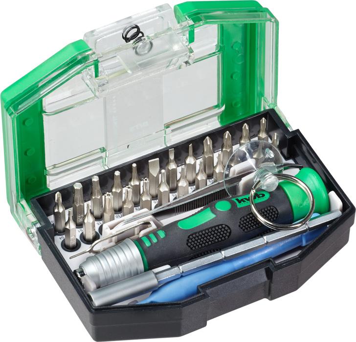 Набор бит Kwb, 30 предметов набор kraftool отвертки для ремонта мобильных телефонов 12 предметов
