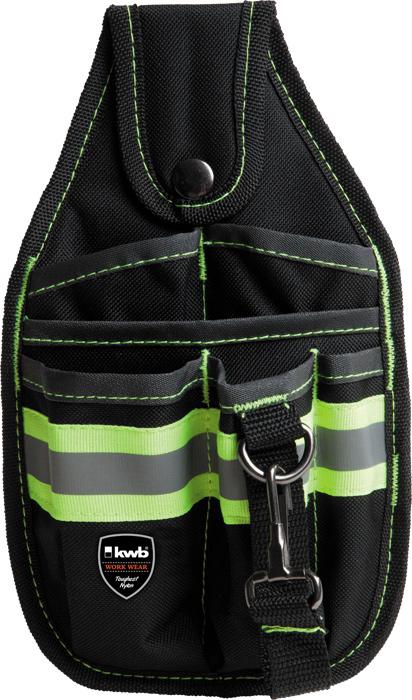 Сумка поясная для инструмента, Kwb, одинарная, 270 х 150 мм рюкзак workpro w081065ch для инструмента повышенной прочности 37 карманов подарок стриппер и но