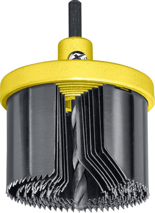 Коронка пильная наборная Kwb, 25-63 х 40 мм, 7 шт цена