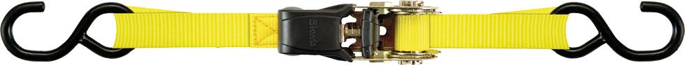 лучшая цена Ремень стяжной Kwb, с двумя крючками, 7722-22, 2.5 м, 2 шт