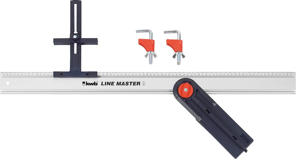 Направляющая с угольником Kwb Master 7844-00, 800 мм недорго, оригинальная цена