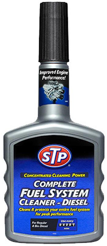 Комплексный очиститель топливной системы STP, для дизельного двигателя, 65400EN, 400 мл