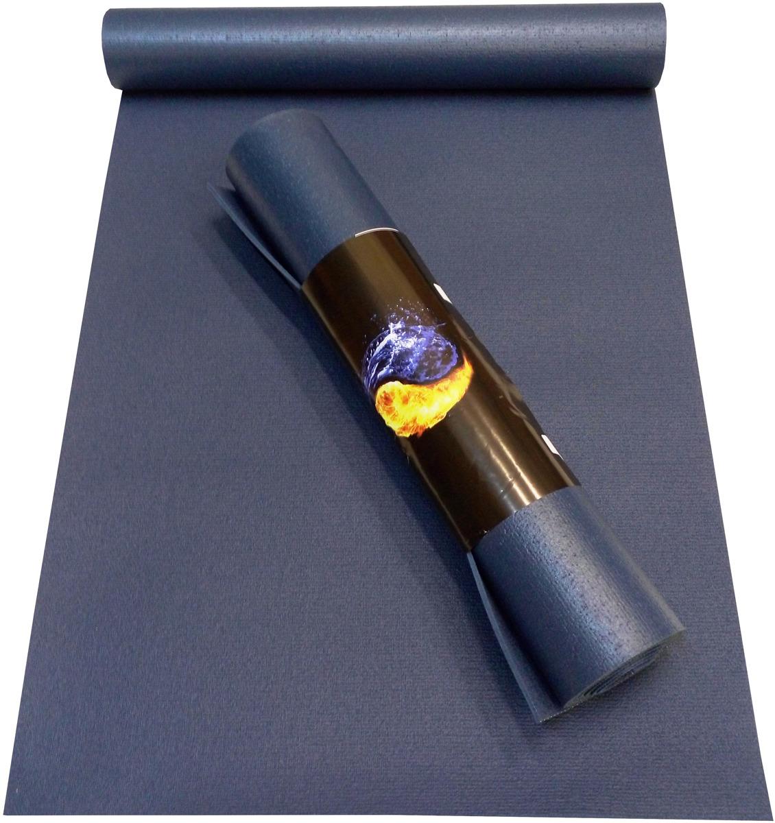 Коврик для йоги детский Ako-Yoga Yin-Yang Studio, цвет: синий, 150 х 60 х 0,45 см коврик для йоги ako yoga yin yang studio цвет синий 185 х 60 х 0 45 см