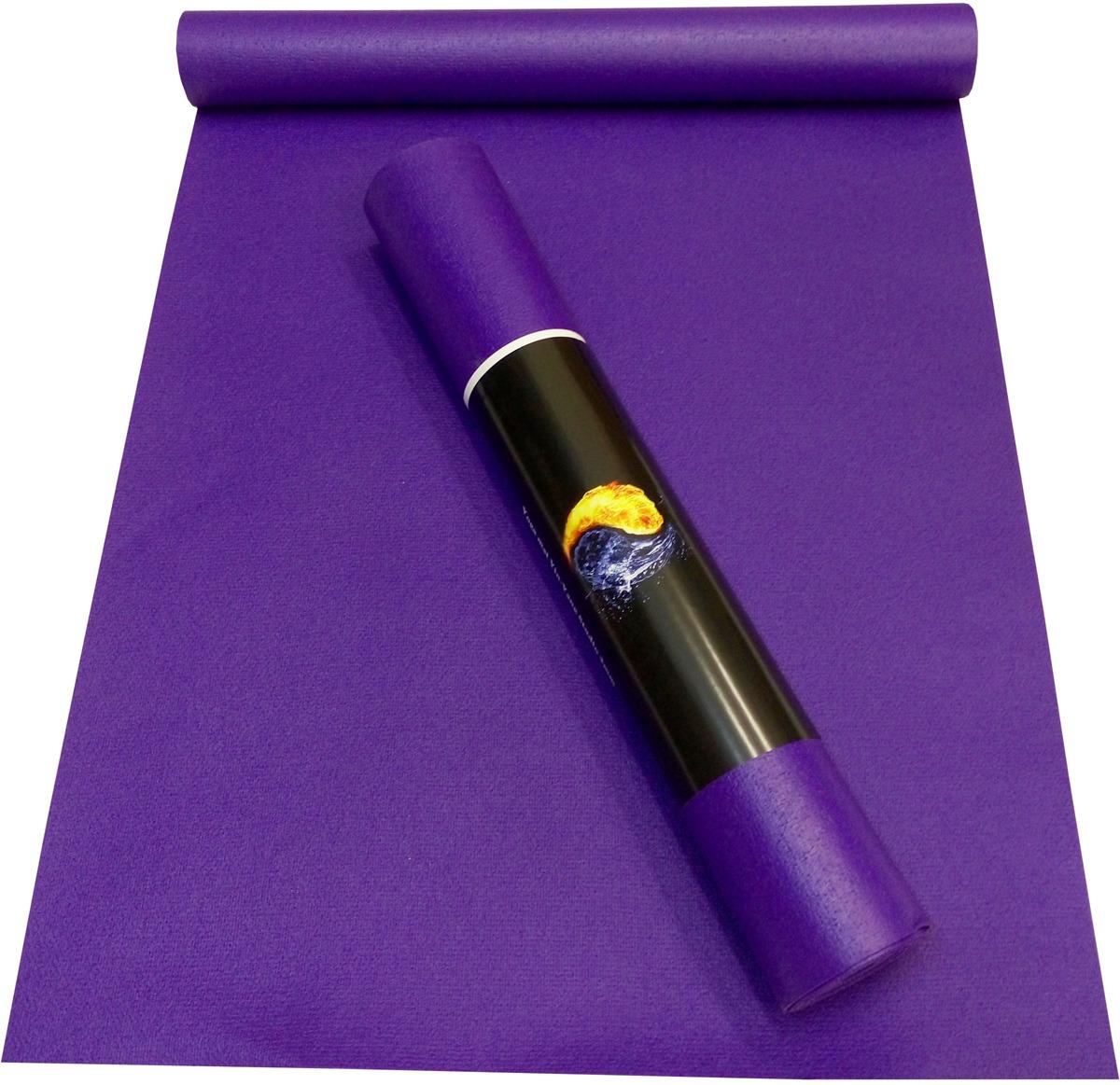 Коврик для йоги Ako-Yoga Yin-Yang Studio, цвет: фиолетовый, 200 х 80 см коврик для йоги onerun цвет фиолетовый 183 х 61 х 0 4 см