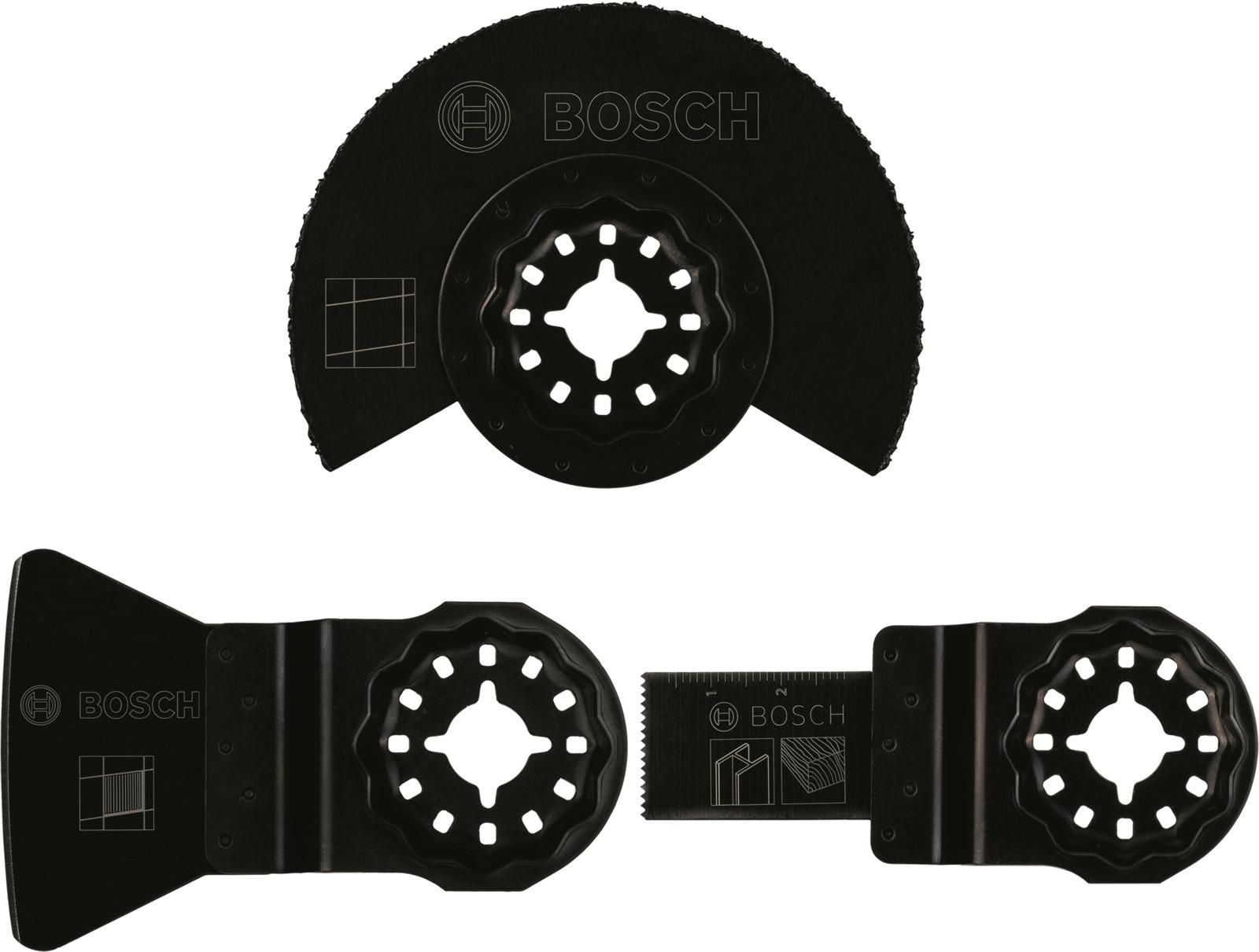 Набор оснастки Bosch Starlock, для работ с керамической плиткой полотно пильное palisad 60421