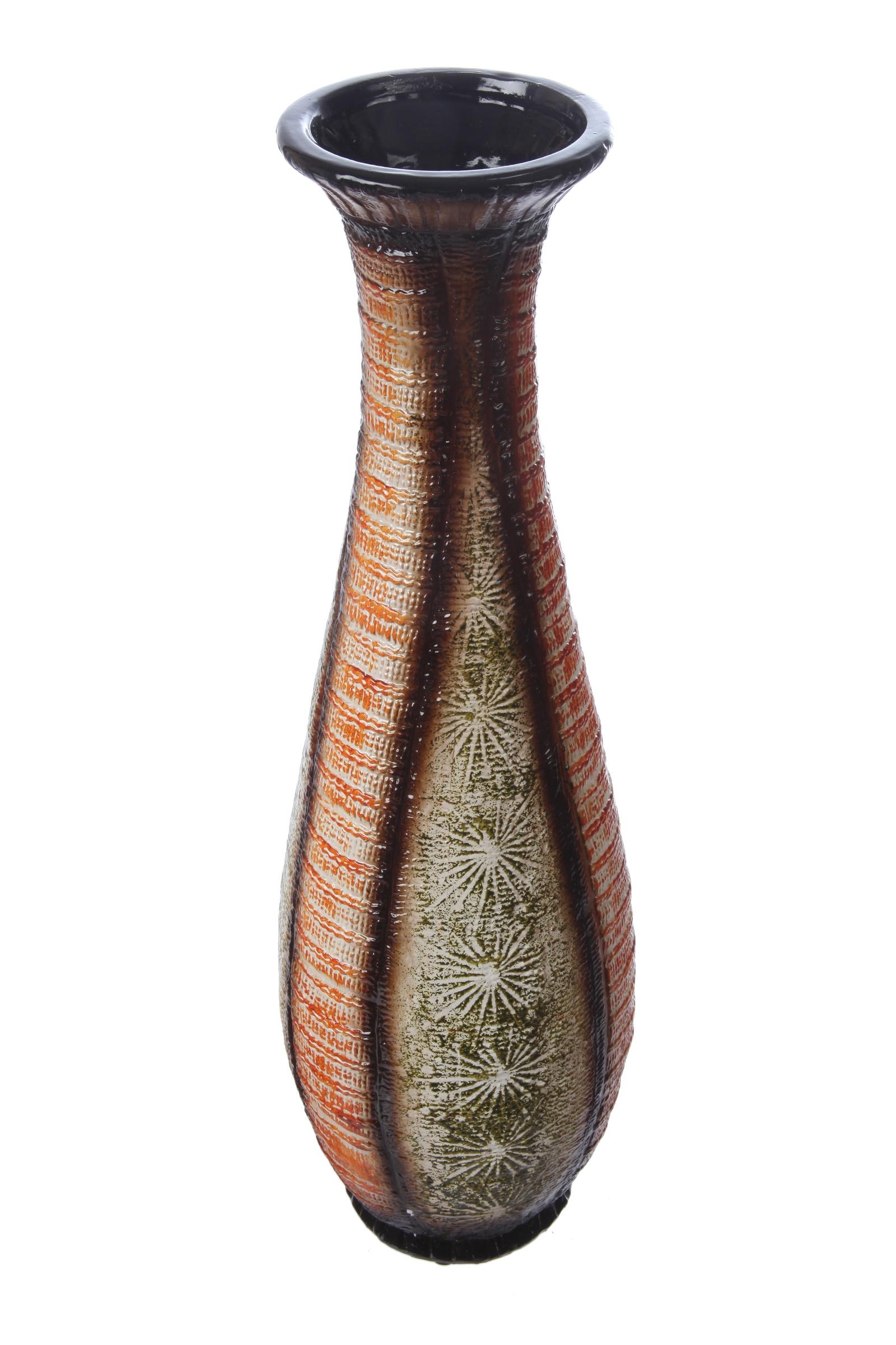 Ваза IsmatDecor Керамическая ваза, VB-86 черный, черный велогибрид kupper unicorn зелено черный