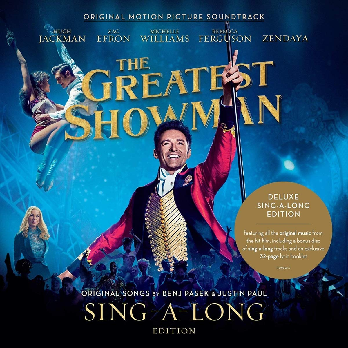 Original Motion Picture Soundtrack. The Greatest Showman. Sing-A-Long Edition (2 CD) ховард шор howard shore the hobbit an unexpected journey original motion picture soundtrack 2 cd