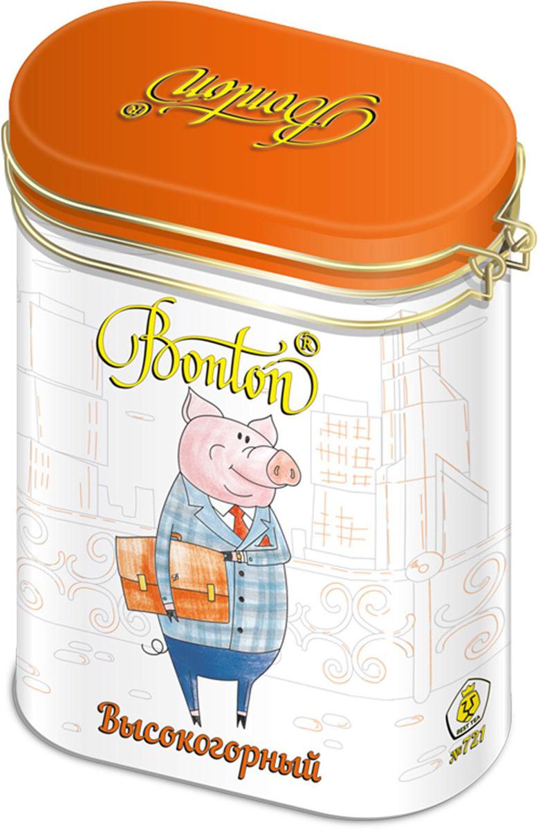 Чай черный байховый Бонтон Высокогорный, цейлонский крупнолистовой №721, 100 г светодиодная гирлянда сакура розовая 700см 07933 uniel uld s0700 050 dta pink ip20 pink sakura