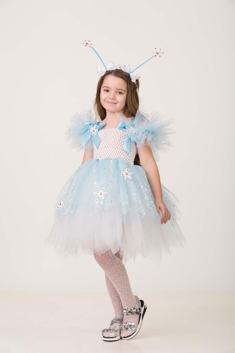 Карнавальный костюм Jeanees Набор сделай сам Снежинка, цвет: голубой. Размер: 26-40 карнавальный костюм jeanees зайка капризка цвет голубой размер 24