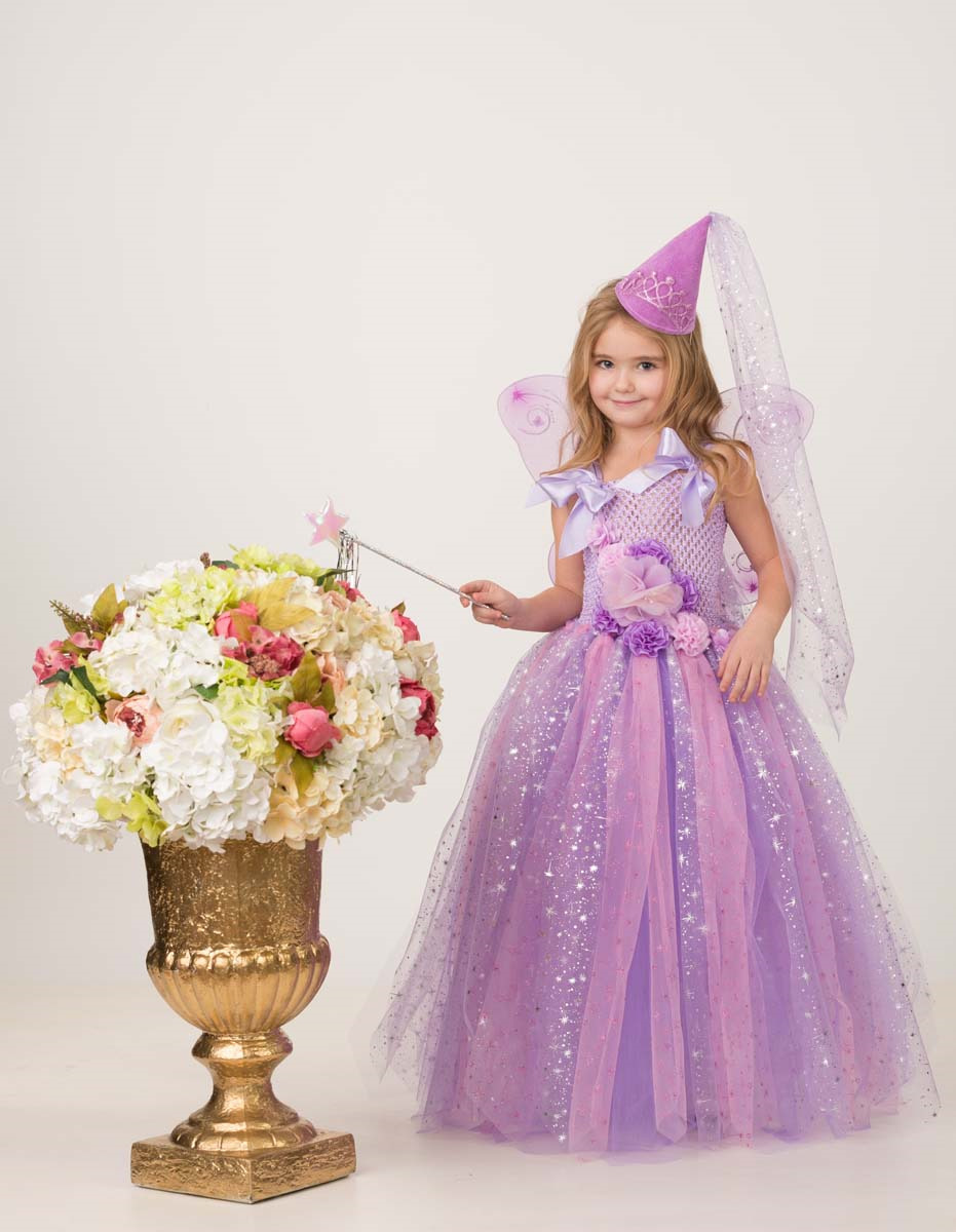 цена на Карнавальный костюм Jeanees Набор сделай сам Фея цветочная, цвет: сиреневый. Размер: 26-44