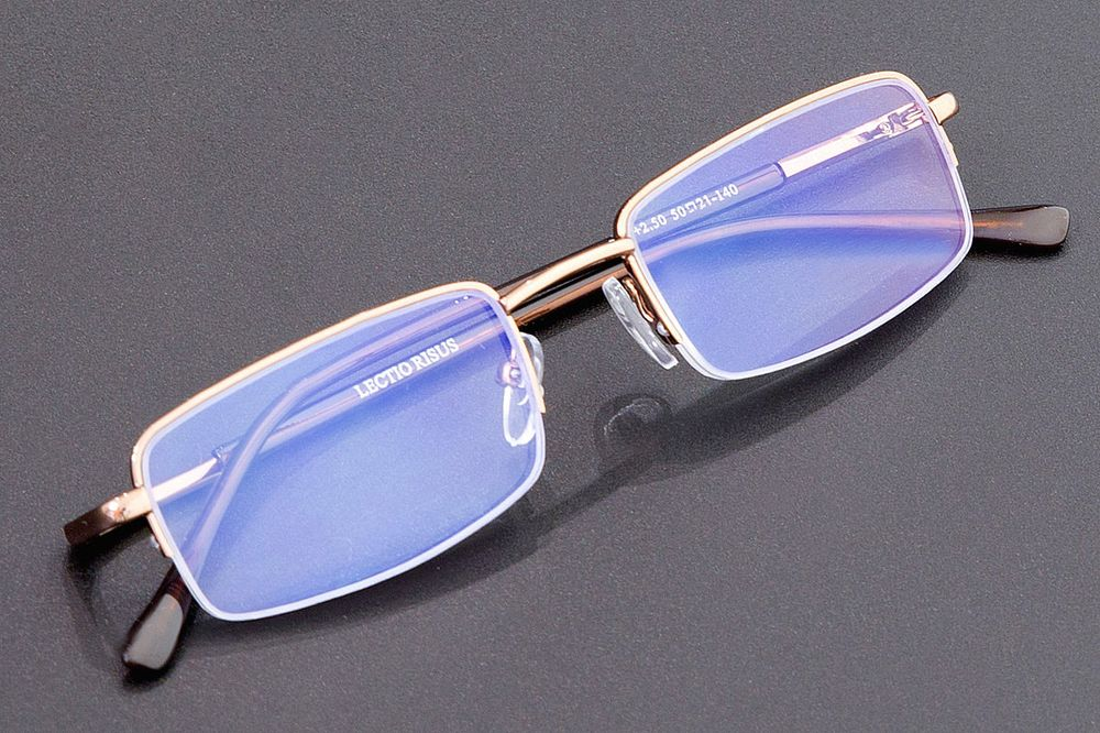Очки корригирующие Lectio Risus Blue Light Protection, для компьютера, + 3,5. M004 C3/U Lectio Risus