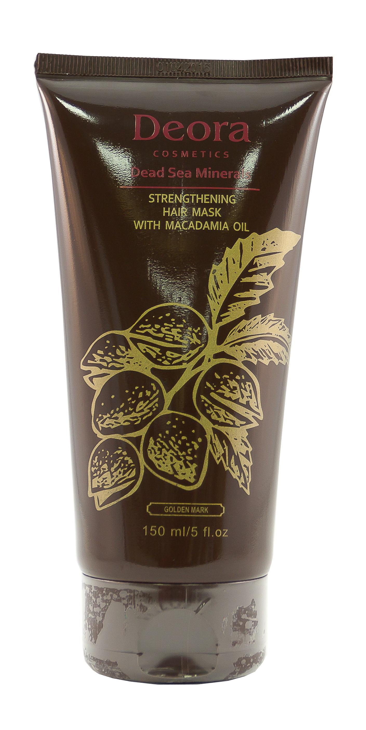 Маска для волос укрепляющая и оздоравливающая с маслом макадамии маска от перхоти дома