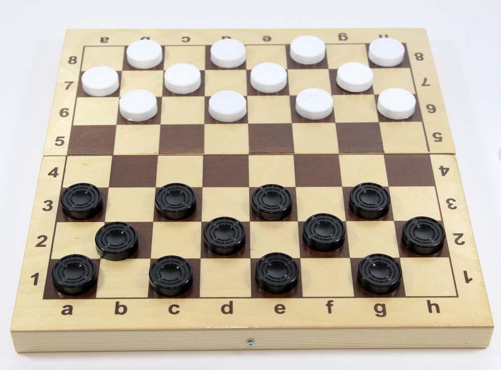 Фото - Настольная игра Десятое королевство Шашки, пластиковые настольная игра десятое королевство шашки большие шашки