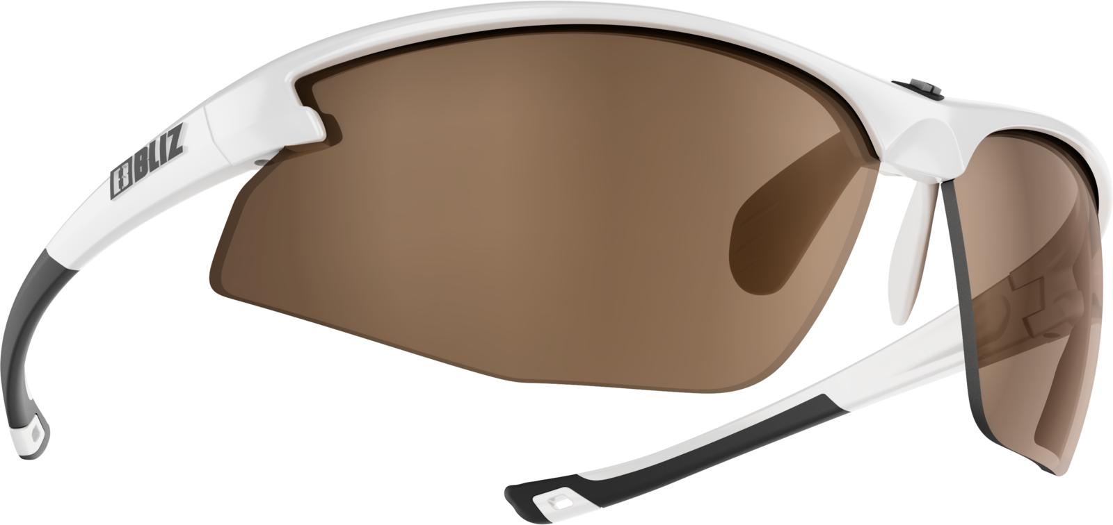 Очки спортивные Bliz Motion, для беговых лыж, велоспорта, цвет: белый