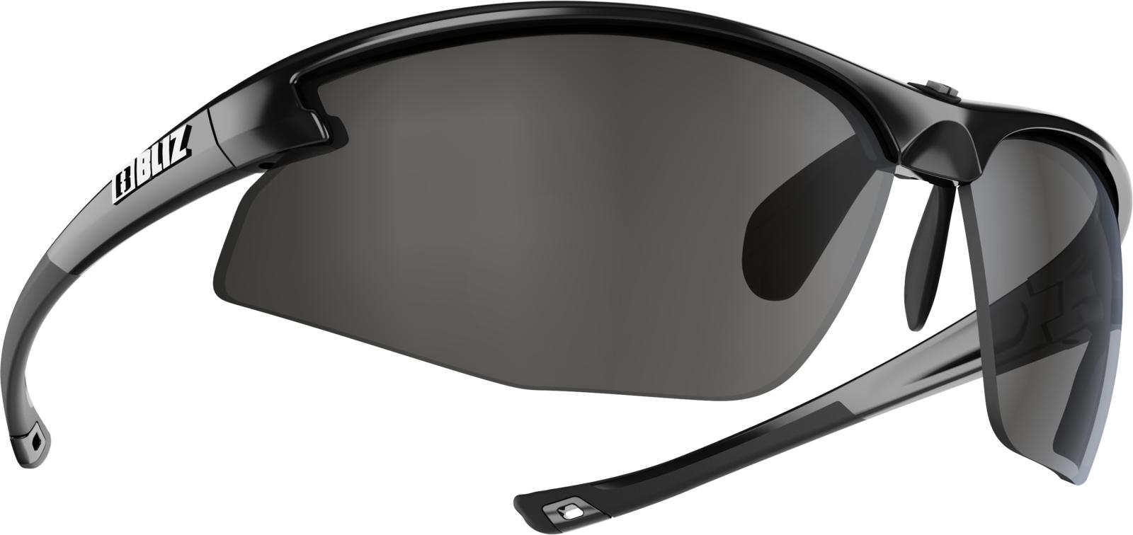 Очки спортивные Bliz Motion+, для беговых лыж, велоспорта, цвет: черный