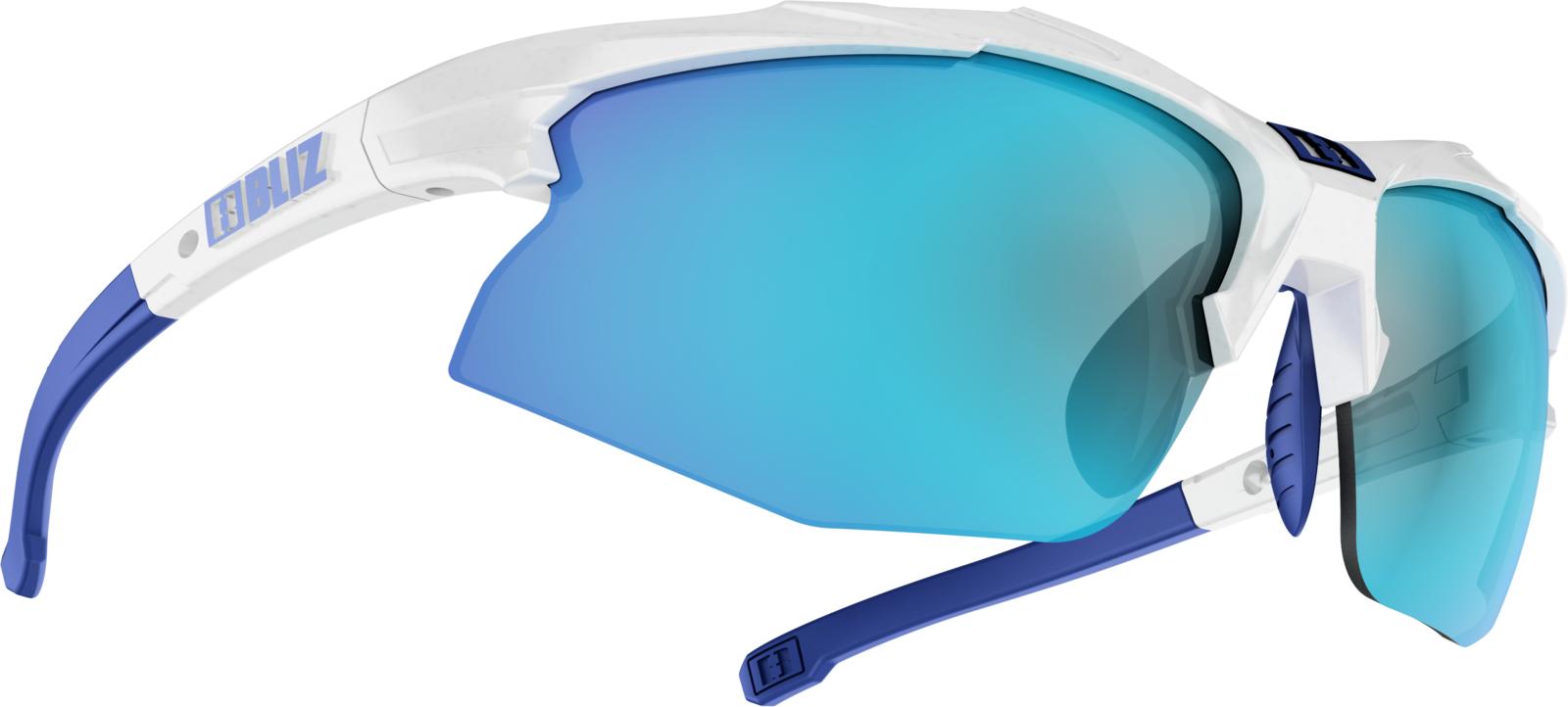 Очки спортивные Bliz Hybrid, для беговых лыж, велоспорта, цвет: белый