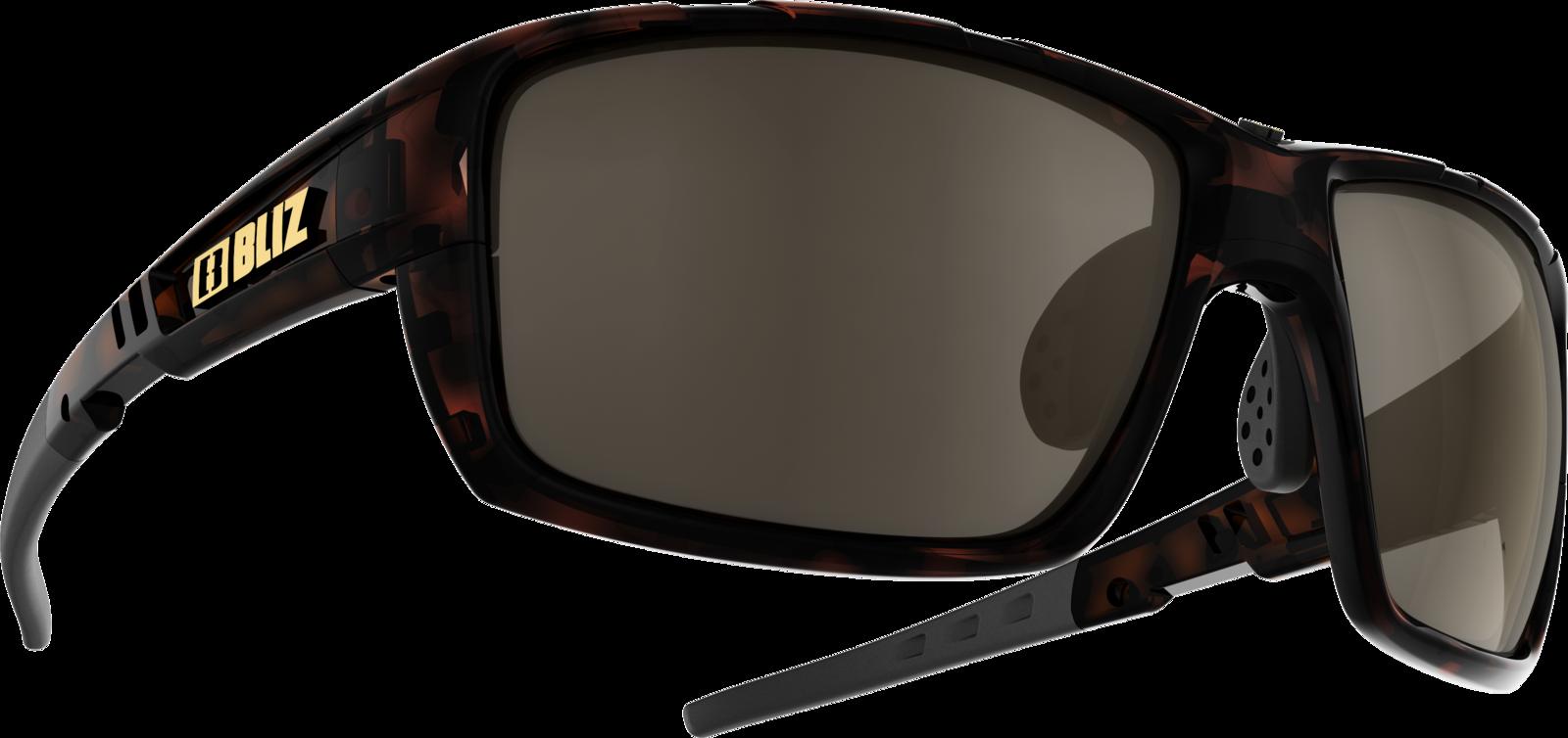 Очки спортивные Bliz Tracker Ozon, для беговых лыж, велоспорта, цвет: коричневый