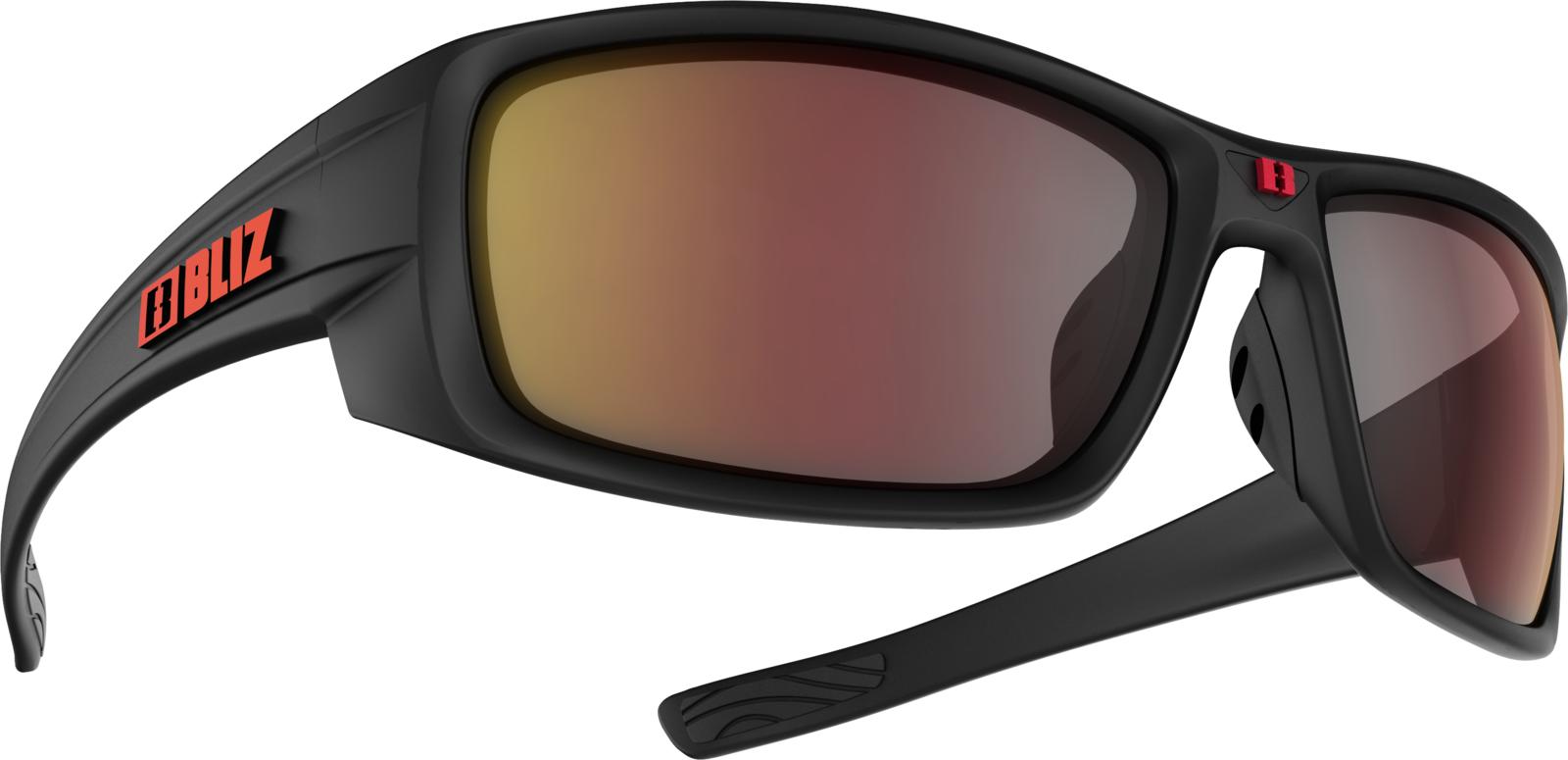 Очки спортивные Bliz Rider, для беговых лыж, велоспорта, цвет: черный