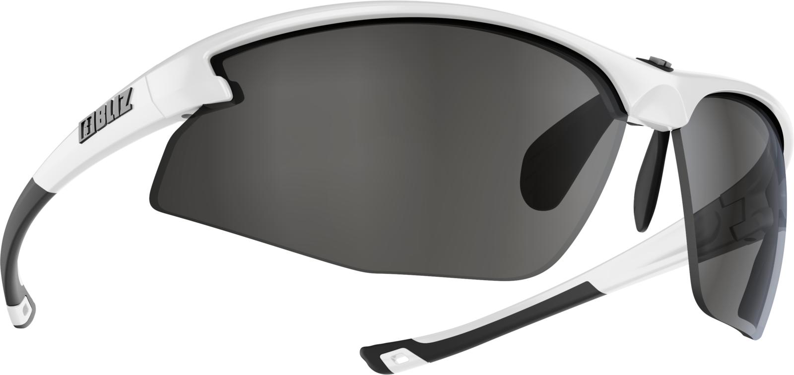 Очки спортивные Bliz Motion+, для беговых лыж, велоспорта, цвет: белый