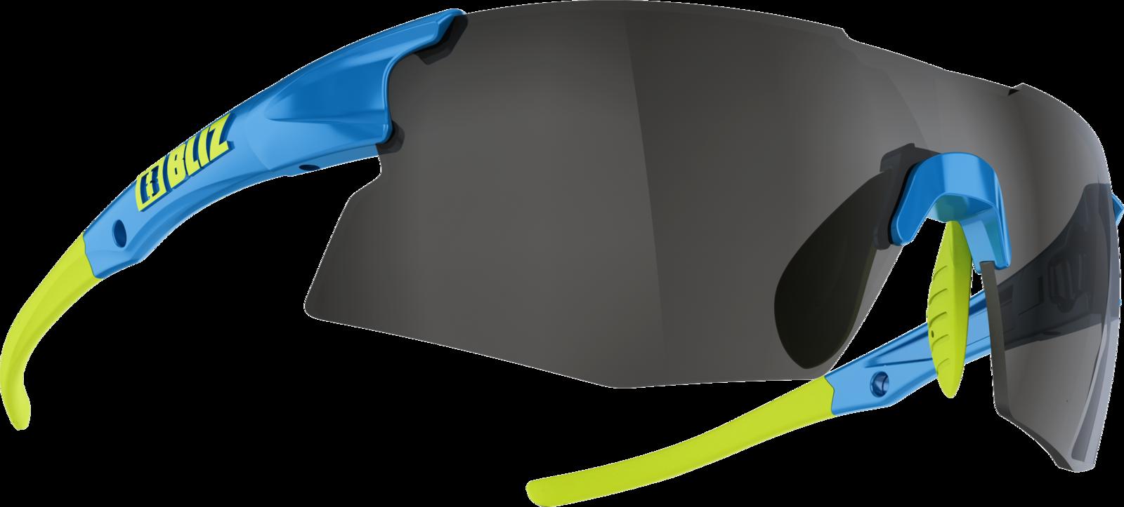 цена Очки спортивные Bliz Tempo Smallface, для беговых лыж, велоспорта, цвет: синий онлайн в 2017 году
