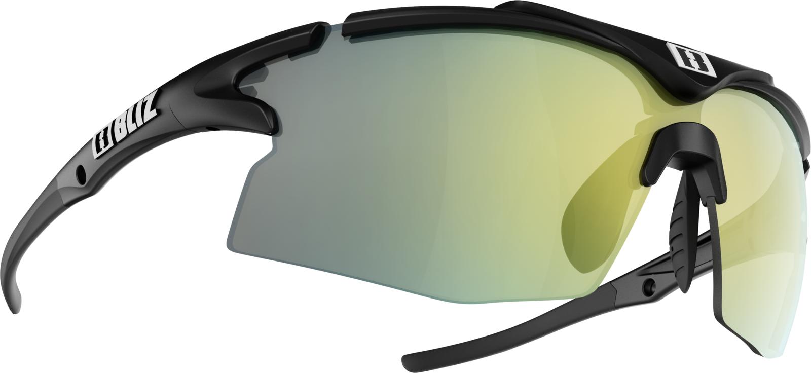 Очки спортивные Bliz Tempo, для беговых лыж, велоспорта, цвет: черный