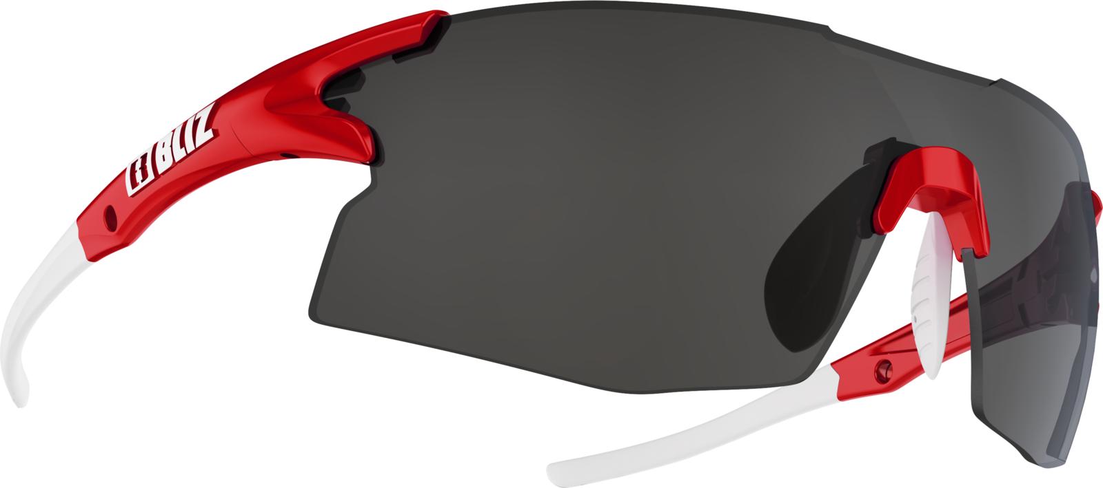 цена Очки спортивные Bliz Tempo, для беговых лыж, велоспорта, цвет: красный онлайн в 2017 году