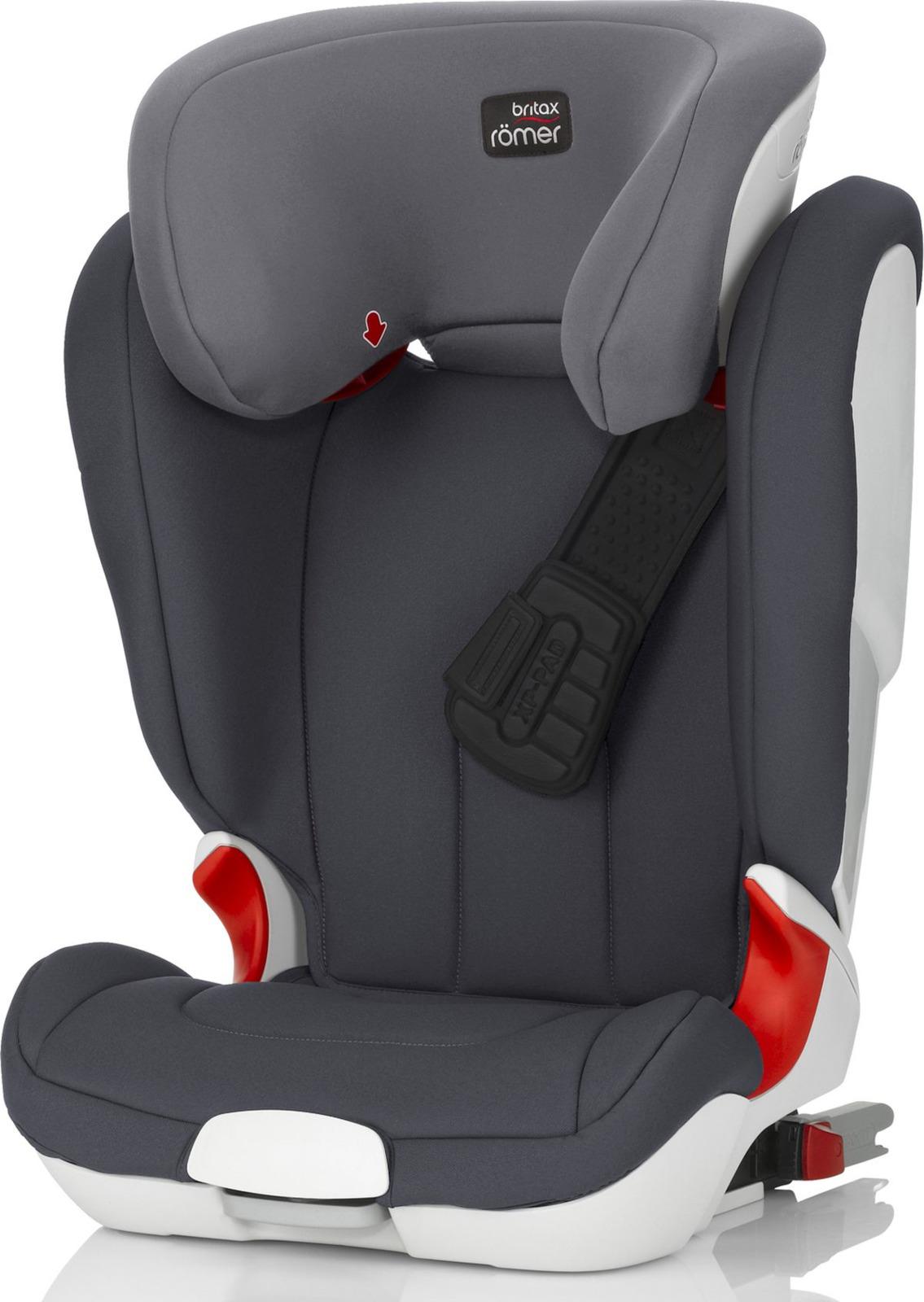 Автокресло детское Britax Roemer Kidfix XP, цвет: серый, от 15 до 36 кг автокресло cybex solution x цвет серый от 15 до 36 кг