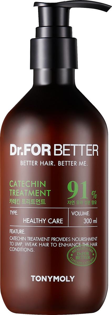Кондиционер для волос Tony Moly Dr.  For Better Catechin Treatment, 300 мл