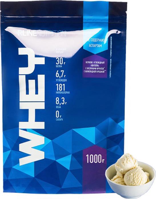 Протеин cывороточный Rline Whey, пломбир, 1000 г RLINE