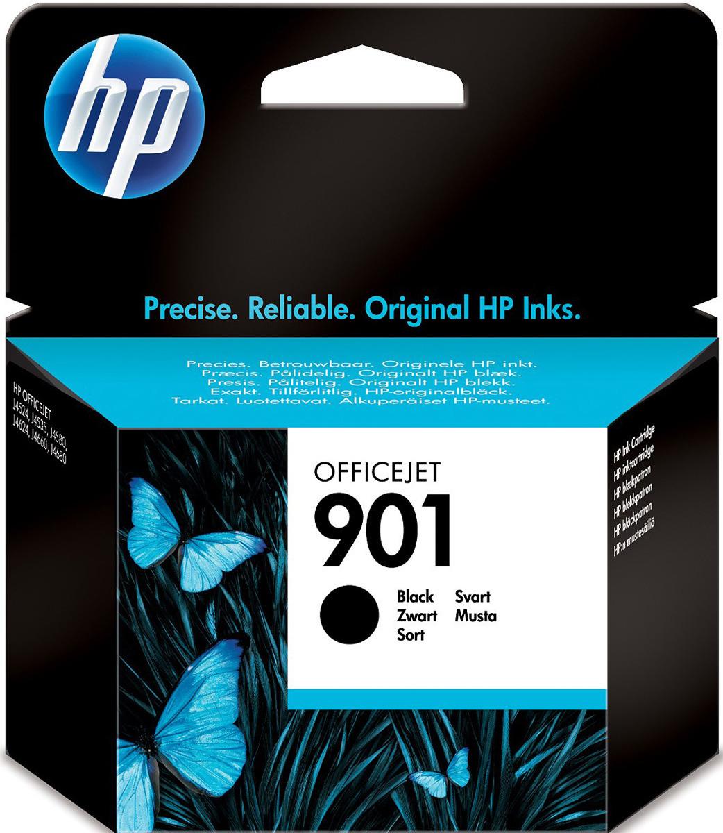 Картридж HP 901, черный, для струйного принтера, оригинал