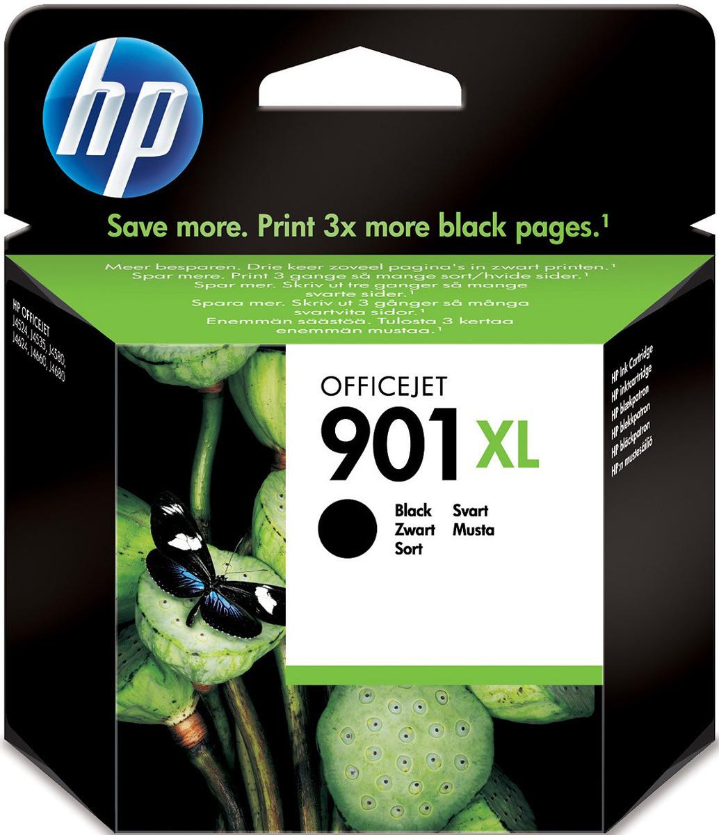 Картридж HP CC654AE 901XL, черный, для струйного принтера, оригинал цена