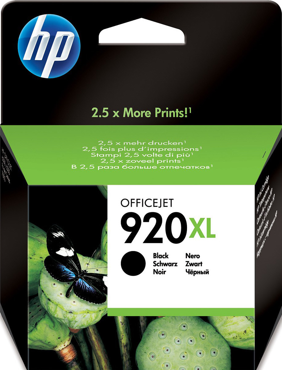 Картридж HP 920XL (CD975AE), черный