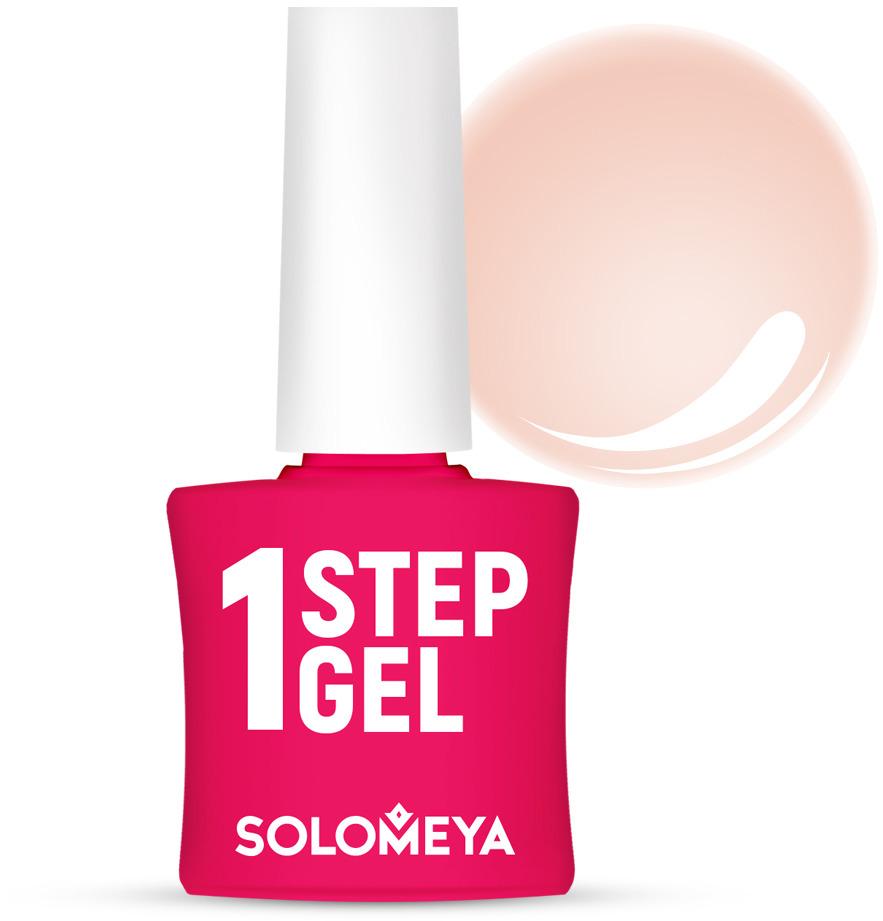 Однофазный гель-лак Solomeya, тон 3 персик, 5 мл гель лак для ногтей solomeya martinа мартина 8 5 мл