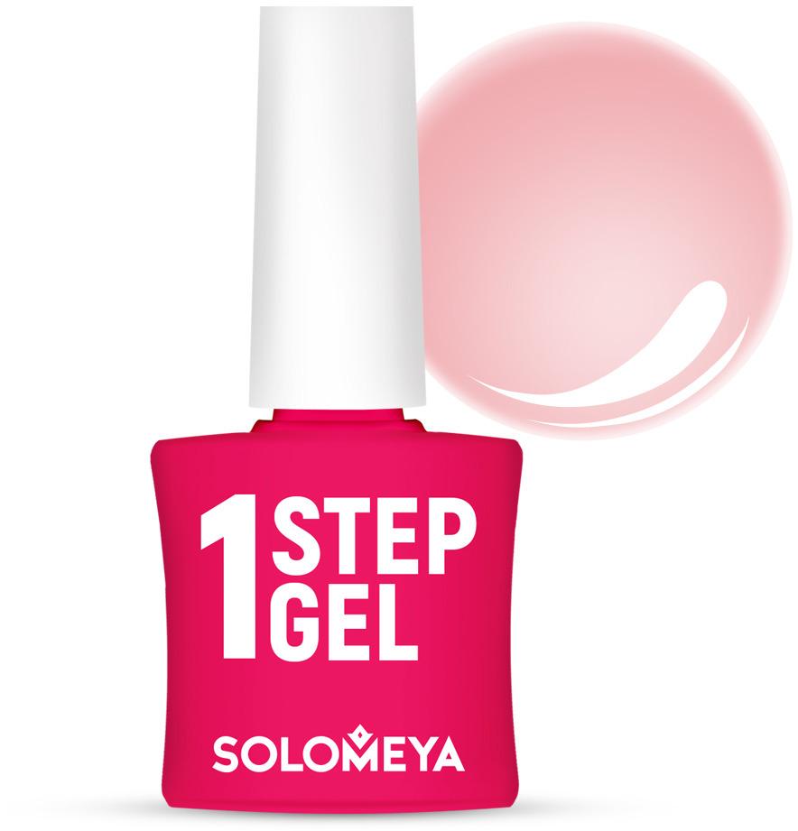 Однофазный гель-лак Solomeya, тон 5 бегония, 5 мл гель лак для ногтей solomeya martinа мартина 8 5 мл