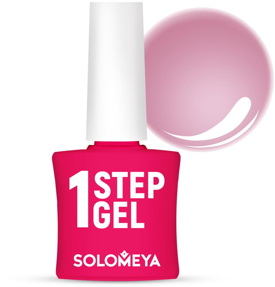 Однофазный гель-лак Solomeya, тон 7 бархат, 5 мл гель лак для ногтей solomeya martinа мартина 8 5 мл