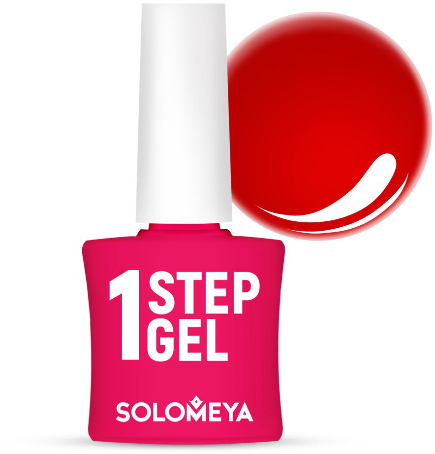 Однофазный гель-лак Solomeya, тон 19 перец, 5 мл однофазный гель лак кварц solomeya one step gel 31 quartz
