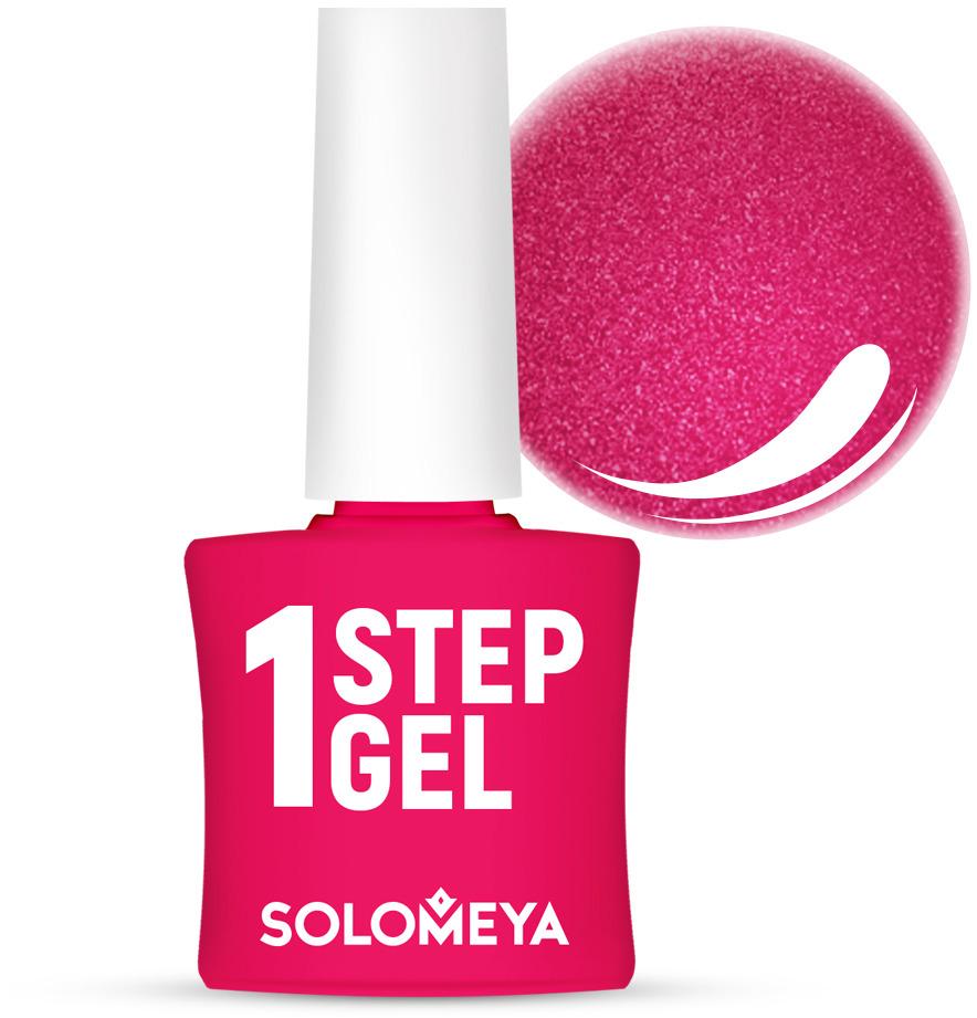 Однофазный гель-лак Solomeya, тон 32 турмалин, 5 мл однофазный гель лак кварц solomeya one step gel 31 quartz