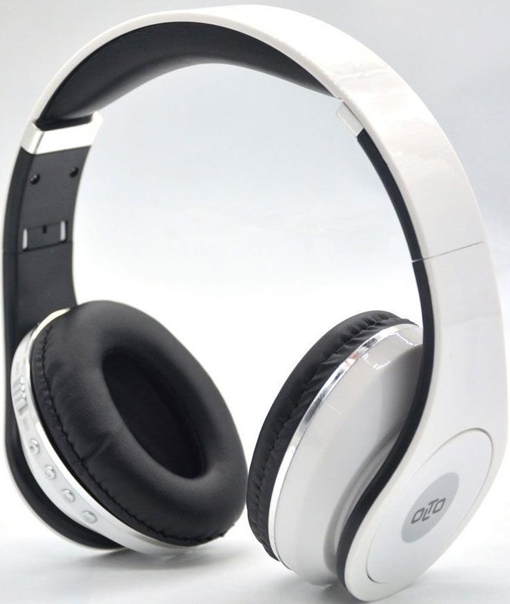 купить Беспроводные наушники OLTO HBO-155, белый онлайн
